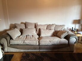 Excellent condition Large 4 seater sofa