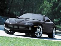 2004 Jaguar XKR COUPE -- SUPERCHARGED -- BLACK ON BLACK -- CANAD