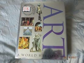 A World History of Art ,covering 18th/20th Century 720 pages of info., ideal for any one teaching