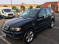 BMW X5 Automatic Leather Good Condition Fully Loaded with mot