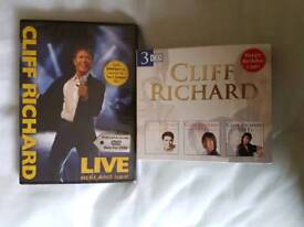 Cliff Richard DVD & CD's