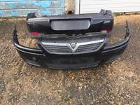 Vauxhall corsa bumpers