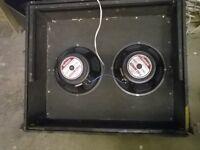 2 x vintage mid seventies Goodman audiom 50 speakers