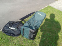 Golf flight bags (2x)
