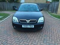 Vauxhall Vectra 1.8 i 16v SXi 5dr 2003 (03 reg, Hatchback 91,000 miles Manual One Owner+MOT,MAY 2017