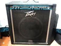 "Peavey TNT160 160 watt 15"" combo quality bass amp"