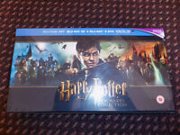 NEW Harry Potter Hogwarts Collection Boxset (31 disc Blu-ray 3D + Bluray + DVD Collectors Box set)