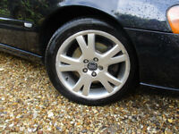 """Volvo Orestes alloys 17"""" x2 with Continental Sport contact 5 tyres 225/45/R17"""