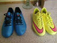 Adidas/Nike Football boots (2 pairs) Girls/Boys/ Great condition