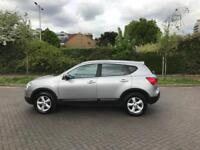 NISSAN QASHQAI 1.6 ACENTA 2008 (08) SILVER! ONLY 84000 MILES!!