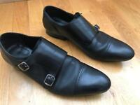 Kurt Geiger Monk Strap Men's Black Shoes Size 9