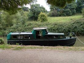 """Sally Girl"" Outstanding Self-build 29ft Steel Narrowboat Boat"