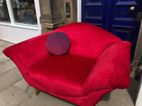 Modern Love Seat - Excellent Condition -labels still on as never been used. Free Local Delivery