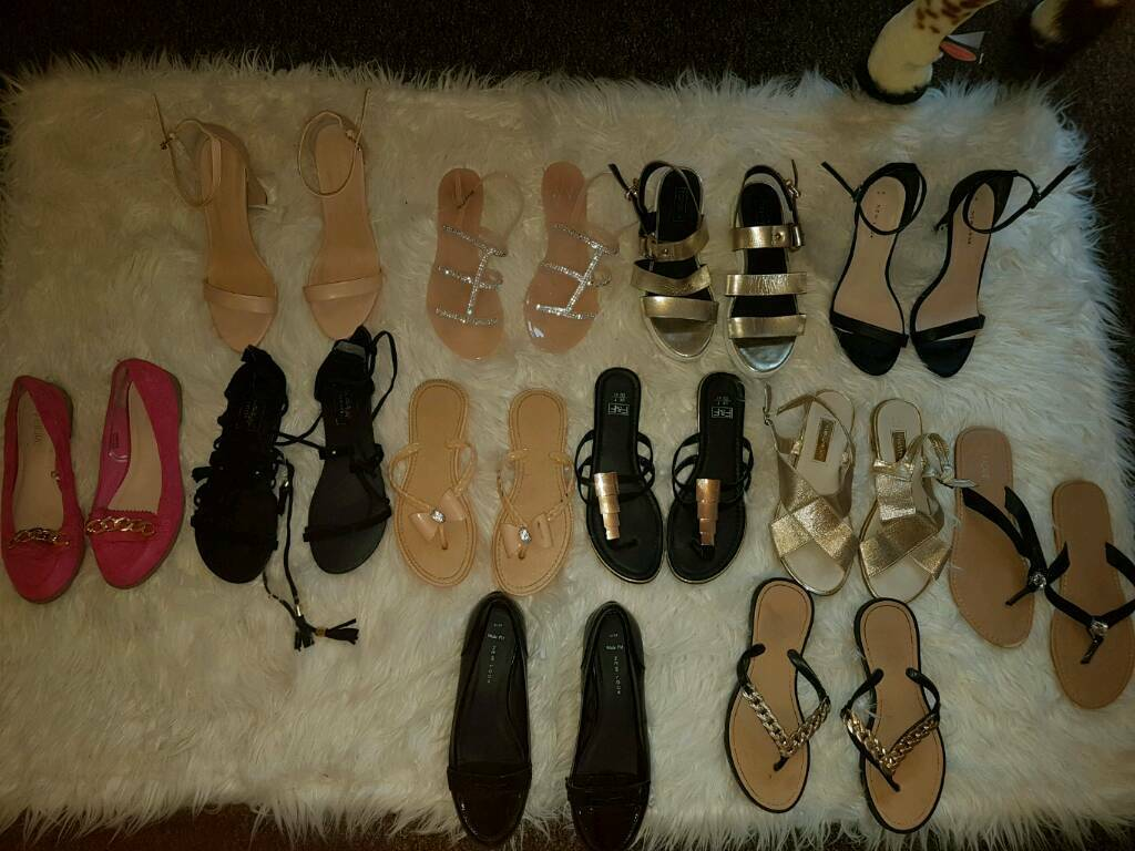 Bundle of shoes 6/7in Barry, Vale of Glamorgan - Mixture of shoes worn once or new that Ive collected and not got much wear out of wallisTopshop NewyorkShoe box F&FFloreAnd more All size 6/7Will sell indevidual