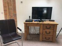 Office Table / Dressing Table in Oak