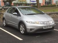2009 HONDA CIVIC 2.2 CDTI SE * 5 DR * DIESEL * 1 YEAR MOT * S/HISTORY * PX * DELIVERY * FINANCE *
