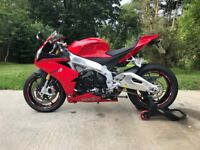 Awesome aprilia RSV4, 1 owner, fsh, low mileage in mint condition