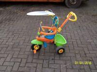 baby push along trike