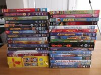 40 Childrens cartoon DVDs