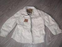 Next beige jacket age 4yrs