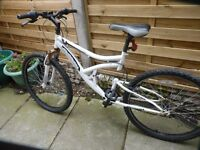 MUDDY FOX ADULT MOUNTAIN BIKE, GREAT BIKE, EXCELLENT CONDITION, BARGAIN £55, CAN DELIVER