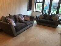 Sofa Set. 3 seater & 2 seater used
