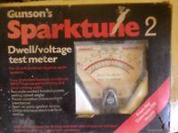 Gunsons Sparktune 2 Dwell Voltage Test Meter 12v Electrical Tester
