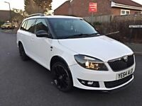 2015 SKODA FABIA BLACK EDITION 1.2 TSI 105BHP ESTATE DAMAGED REPAIRED