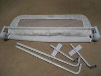 Single Bed Rail - White