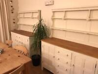 Newly refurbished matching Shabby Chic ercol Dressers.