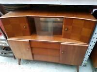 Vintage Mid Century Sideboard Drinks Cabinet Cupboard Storage