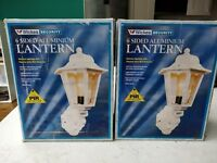 Security lanterns X 2, £20 for pair