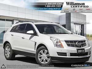 2011 Cadillac SRX LUXURY COLLECTION**AWD**SUNROOF**LTHR**BCK UP