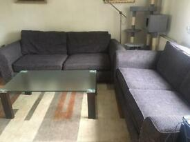 Sofas 3 seater and 2 seater