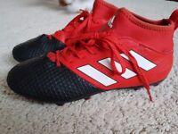 Adidas Ace 17.3 with socks