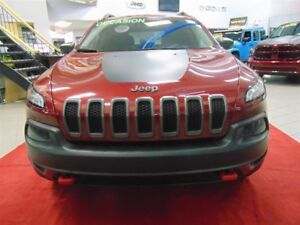 2015 Jeep Cherokee Trailhawk 4X4 V6 *CUIR, GROUP TECH, NAV, TOIT