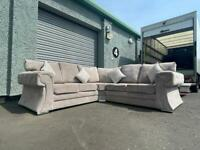 Beautiful Chesterfield corner sofa delivery 🚚 sofa suite couch furniture