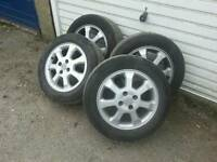 Vauxhall alloy wheels astra corsa