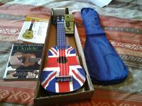 For Sale Brand new Ukulele with case