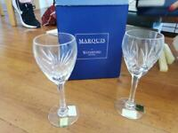 Marquis by Waterford crystal Provence wine glass x 6 - 12