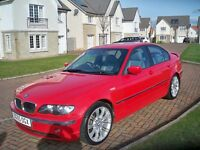 BMW 320 DIESEL 6 SPEED FULL LEATHER 1 YEARS MOT FULL SERVICE HISTORY ONLY 2 OWNERS GREAT CONDITION
