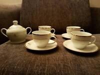 Queen Elizabeth II commemorative tea set