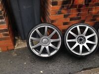 Audi 18 inch alloy wheeles