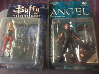 Buffy the vampire slayer and Angel figure