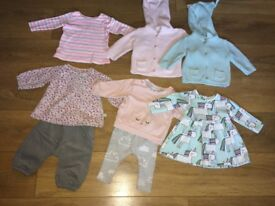 Girls 3-6 months items/outfits. Next. M&S. Joules