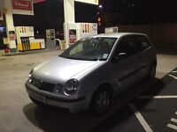 Diesel Volkswagen polo face lift model ,low insurance great on fuel px welcome