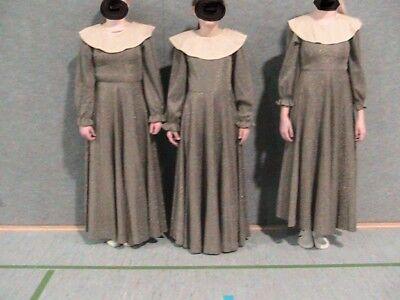 * Karnevalkostüm Nonne Whoppi Goldberg Sister Act Lurex Kleid lang Zofe Gr.XS /S