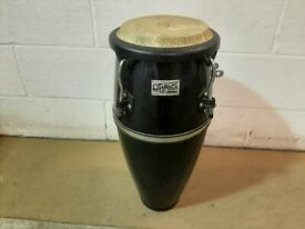 Toca Player's Series Black Wooden Compact Conga Drum 8in x 24in Deep - £90 ono