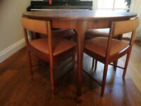 Scottish vintage Extendable Rosewood table