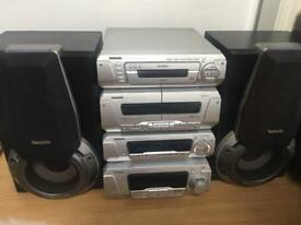 Technics separate stereo system